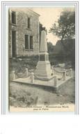 VALLIERES Monument Aux Morts Pour La Patrie - Non Classés
