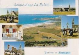 29 PLONEVEZ-PORZAY STE ANNE LA PALUD Le Pardon, Dernier Dimanche D'août, La Plage 6 Vues - Animée - Plonévez-Porzay