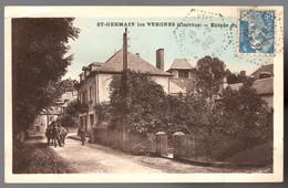 ST GERMAIN LES VERGNES Entrée Du Village - Autres Communes