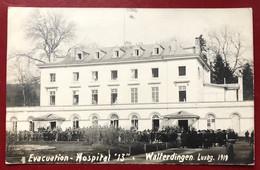 Luxembourg  Walferdange , Walferdingen 1919 . Evacuation - Hospital 13 - Altri