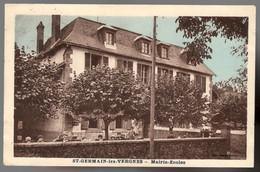 ST GERMAIN LES VERGNES Mairie-Ecoles - Autres Communes