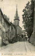 St Brieuc * La Rue St Pierre * Voir Cachet Au Dos : 11ème Corps D'armée , Place De Nantes - Saint-Brieuc