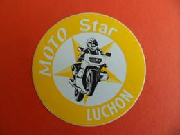 Autocollant - Moto STAR - LUCHON - Haute Garonne - Stickers