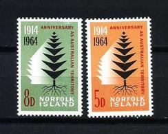Norfolk Nº 57/8 Nuevo - Isola Norfolk