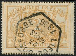 TR14 Gestempeld LIEGE JONFOSSE 1896 - Met Watermerk - Used
