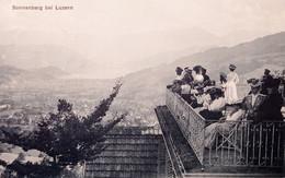 Cartolina - Svizzera - Sonnenberg Bei Luzern - 1900 - Zonder Classificatie