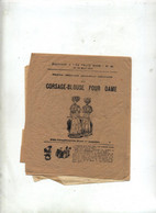 Patron Corsage Blouse 1907 - Cartamodelli