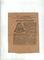 Patron Jupon Pantalon 1908 - Patrones