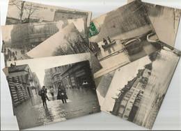 PARIS. INONDATIONS DE PARIS. LOT 10 CPA. 1910. ND FF Noyer Crue Inondation Paris Inondé. - La Crecida Del Sena De 1910
