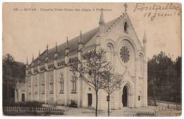 CPA 17 - ROYAN (Charente Maritime) - 56. Chapelle Notre Dame Des Anges, à Pontaillac - Ed. Billaud - Royan