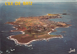 ILE DE BATZ     VUE GENERALE AERIENNE - Ile-de-Batz