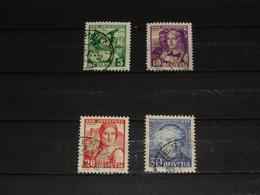 SERIE 266-269  PRO JUV. 1933 GEBRUIKT - Used Stamps