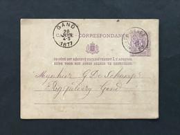 Postkaart DC OOSTERZEELE 77 - Postkaarten [1871-09]