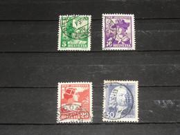 SERIE 281-284  PRO JUV. 1934 GEBRUIKT - Used Stamps