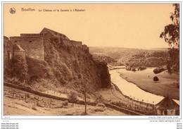 BOUILLON - Le Château Et La Semois à L'Abbattoir - Kasteel - Bouillon