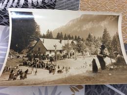 ♥️ COL DE LA CHARMETTE. Inauguration Du Col Maison Forestière. Photo Format 18x13cm - Sonstige Gemeinden