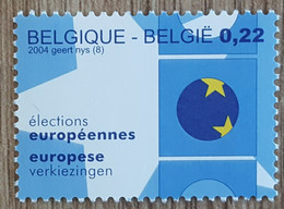Belgique - YT N°3242 - Elections Européennes - 2004 - Neuf - Unused Stamps