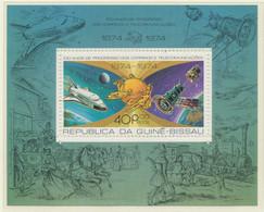 GUINEA-BISSAU 1977, Apollo-Sojuz + U.P.U., Superb U/M MS - Guinea-Bissau