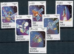 GUINEA-BISSAU, 1983, Raumfahrt 1.00 P - 20.00 P (6 W.) Gest. - Guinea-Bissau
