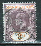 Fiji Edward VII 2d Dull Purple Definitive Stamp From 1906. - Fidschi-Inseln (...-1970)