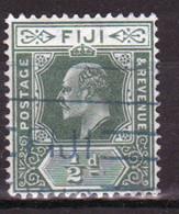 Fiji Edward VII ½d  Definitive Stamp From 1906. - Fidschi-Inseln (...-1970)