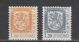 (SA2004) FINLAND, 1979 (Definitives. Coat Of Arms). Complete Set. Mi ## 834-835. MNH** - Nuevos