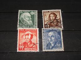 SERIE 412-415  PRO JUV. 1942 GEBRUIKT - Used Stamps