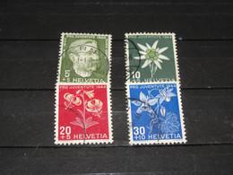 SERIE 439-442  PRO JUV. 1944 GEBRUIKT - Used Stamps