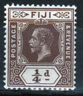 Fiji George V ¼d Definitive Stamp From 1912. - Fidschi-Inseln (...-1970)