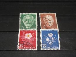SERIE 465-468  PRO JUV. 1945 GEBRUIKT - Used Stamps