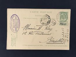 Postkaart EC HERENTHALS 23 NOVE 1905 - Postales [1909-34]