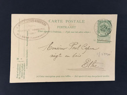 Postkaart EC ST LEGER 12 DECE 1905 - Postales [1909-34]