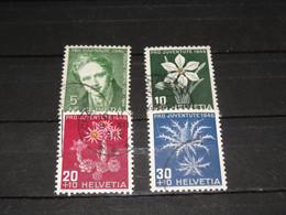 SERIE 475-478  PRO JUV. 1946 GEBRUIKT - Used Stamps