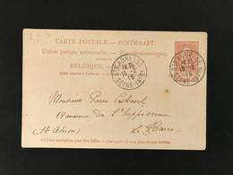 Postkaart EC ST AGRESSE SEINE-INFRE 1915 - Postales [1909-34]