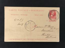 Postkaart EC POSTES MILITAIRES BELGIQUES - Postales [1909-34]