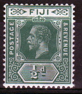 Fiji George V ½d  Definitive Stamp From 1912. - Fidschi-Inseln (...-1970)