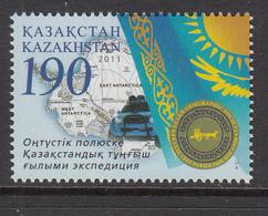 2011 Kazakhstan 1st Kazakh Antarctic Expedition Set Of 1 MNH - Kazakhstan