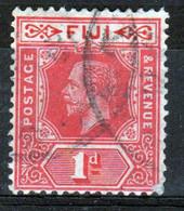 Fiji George V 1d  Definitive Stamp From 1912. - Fidschi-Inseln (...-1970)