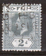 Fiji George V 2d  Definitive Stamp From 1912. - Fidschi-Inseln (...-1970)