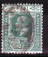 Fiji George V ½d  Definitive Stamp From 1922. - Fidschi-Inseln (...-1970)