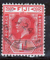 Fiji George V 1d  Definitive Stamp From 1922. - Fidschi-Inseln (...-1970)