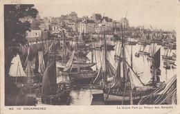 Douarnenez 29 - Port De Pêche - Bâteaux Barques - Oblitération 1937 - Douarnenez