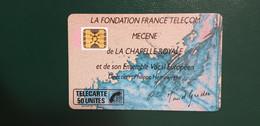 F77A - CHAPELLE ROYALE 50 SC50N 70000EX COTE 30E - 1989