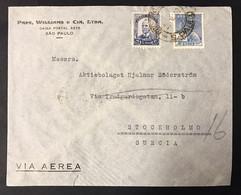 Brasile Brazil Letterina Via Aerea 400 Reis Blu E 5000 Reis Azul  COD.bu.490 - Briefe U. Dokumente