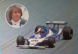 CPM Jacques Laffite Ligier Gitanes JS 11 Formule 1  - 1979 - Voiture  ELF - Grand Prix / F1