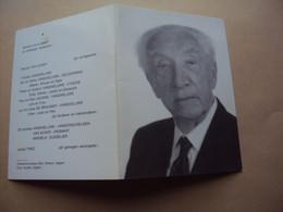 Doodsprentje / Bidprentje   JOZEF  VANGHELUWE   Beveren-Roeselare ° 1905 - † 1990 Izegem   Stichter N.V. WINSOL - Religion & Esotérisme