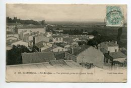 17 ILE D'OLERON St SAINT TROJAN  Vue Quartier Depuis Villa Vanda 1904 Timb   D06 2021 - Ile D'Oléron