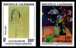 NOUV.-CALEDONIE 2003 - Issu De Yv. BF 28 ** Faciale= 1,68 EUR - Paul Gauguin. Emission Commune (2 Val.)  ..Réf.NCE26733 - Blocks & Sheetlets