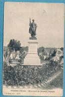 Cimetière D'EVREUX - Monument Du Souvenir Français - Circulé 1912 - Evreux