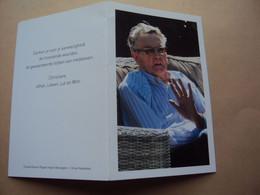 Doodsprentje / Bidprentje    Frans  VANHAVERBEKE  Gullegem° 1936 - † 2017 Kortrijk  'meester Frans' - Religion & Esotérisme